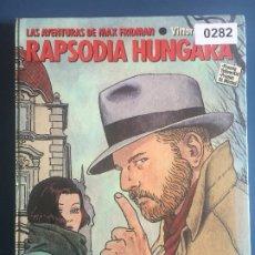 Cómics: RAPSODIA HUNGARA - MAX FRIDMAN - GIARDINO - NUEVO TODAVÍA CON EL PRECINTO - TAPA DURA. Lote 204088238