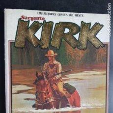 Cómics: LOTE 3 TEBEOS/CÓMIC SARGENTO KIRK N 1-2 Y 3 RETAPADO NORMA 1982 ORIGINAL. Lote 204136346