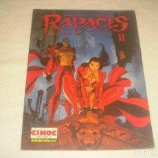 Cómics: RAPACES II . N. 172. CIMOC . NORMA.. Lote 204189735