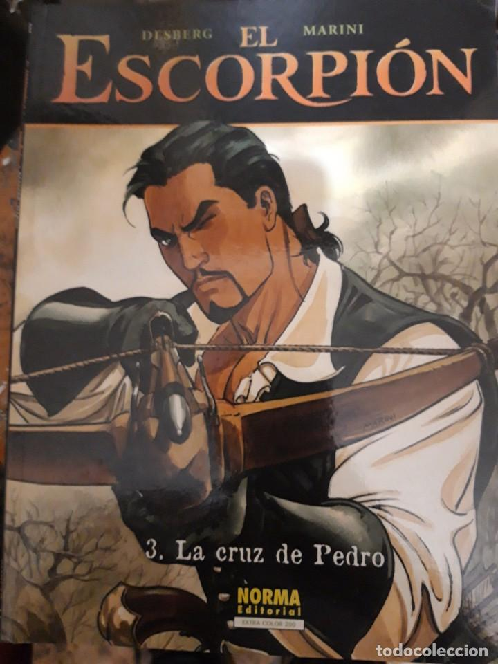 COMIC EL ESCORPIÓN N 3 TAPA BLANDA DE NORMA NUEVO (Tebeos y Comics - Norma - Otros)