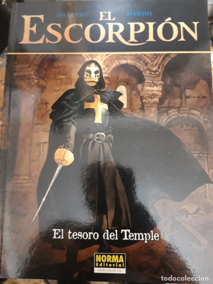 COMIC EL ESCORPIÓN TAPA BLANDA EL TESORO DEL TEMPLE DE NORMA NUEVO (Tebeos y Comics - Norma - Otros)
