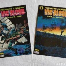 Cómics: RICHARD CORBEN - VIC & BLOOD - COMPLETA (2 NÚMEROS). Lote 204405877