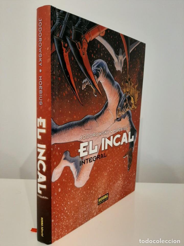 EL INCAL. EDICIÓN INTEGRAL. JODOROWSKY. MOEBIUS. NORMA EDITORIAL. 2011. PRIMERA EDICIÓN. (Tebeos y Comics - Norma - Comic Europeo)