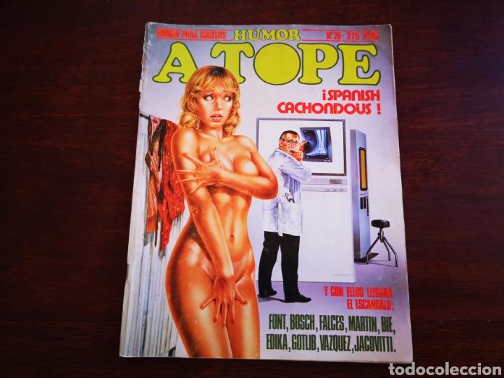 HUMOR A TOPE 20. CON FONT, BOSCH, FACES, EDIKA (Tebeos y Comics - Norma - Otros)