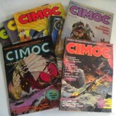 Cómics: LOTE DE 9 CIMOC CÓMIC PARA ADULTOS - 7 14 16 46 50 66 75 109 119 - CIENCIA FICCIÓN AVENTURA FANTASÍA. Lote 204542983