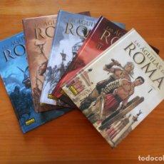 Comics: LAS AGUILAS DE ROMA COMPLETA - TOMOS Nº 1, 2, 3, 4 Y 5 - MARINI - NORMA - TAPA DURA (Z1). Lote 204667257
