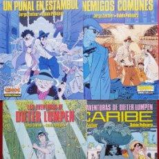 Cómics: LOTE 4 COMICS-DIETER LUMPEN-NORMA EDITORIAL-COLECCIÓN CIMOC-NºS 31,46,59,65-VER FOTOS. Lote 204725471