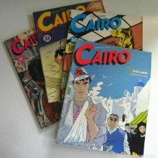 Cómics: LOTE DE CÓMIC CAIRO - NORMA EDITORIAL - 30 32 33 37 - DIETER LUMPEN ROCO VARGAS DE DANIEL TORRES ETC. Lote 204781898