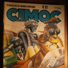 Cómics: CIMOC - Nº 52 - LA REVISTA DE LAS GRANDES AVENTURAS - 1985 - NORMA EDITORIAL -. Lote 204789207