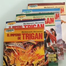 Comics : EL IMPERIO DE TRIGAN - COMPLETA 5 TOMOS - BUTTERWORTH Y DON LAWRENCE - COMIC EXTRA COLOR - NORMA. Lote 204808065