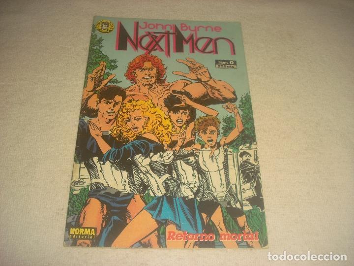 NEXT MEN N. 0 . JOHN BYRNE . RETORNO MORTAL (Tebeos y Comics - Norma - Otros)