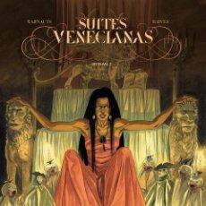 Cómics: SUITES VENECIANAS INTEGRAL 2. TAPA DURA. PONENT MON. Lote 251228260