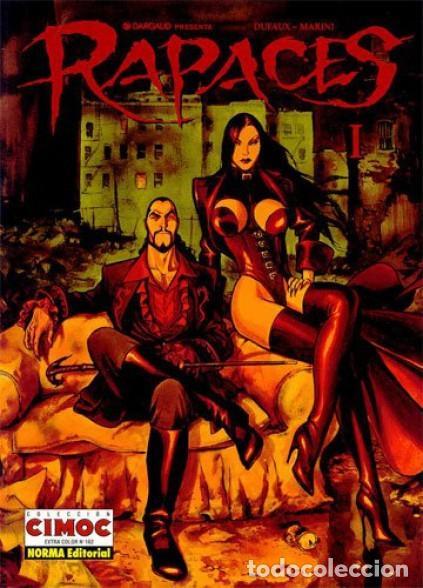 RAPACES, TOMOS 1 AL 4 (DUFAUX / MARINI) NORMA - MUY BUEN ESTADO - SUB01MR (Tebeos y Comics - Norma - Comic Europeo)