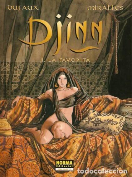 DJINN TOMOS 1 A 4 (DUFAUX / MIRALLES) NORMA - MUY BUEN ESTADO - SUB01MR (Tebeos y Comics - Norma - Comic Europeo)