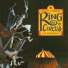 Cómics: RING CIRCUS COMPLETA 4 TOMOS (CHAUVEL / PEDROSA) NORMA - MUY BUEN ESTADO - SUB01MR. Lote 205232853