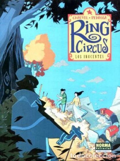Cómics: RING CIRCUS COMPLETA 4 TOMOS (CHAUVEL / PEDROSA) NORMA - MUY BUEN ESTADO - SUB01MR - Foto 2 - 205232853