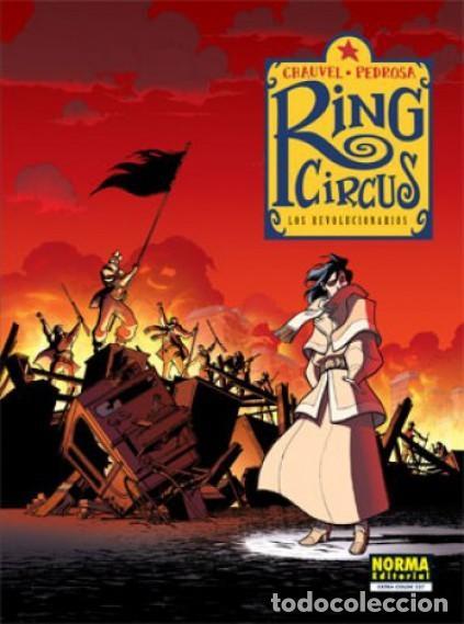 Cómics: RING CIRCUS COMPLETA 4 TOMOS (CHAUVEL / PEDROSA) NORMA - MUY BUEN ESTADO - SUB01MR - Foto 4 - 205232853