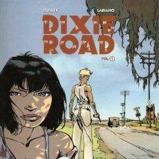 Cómics: DIXIE ROAD LOTE CON LOS TOMOS 1 A 3 (DUFAUX / LABIANO) NORMA - MUY BUEN ESTADO - SUB01MR. Lote 205233498