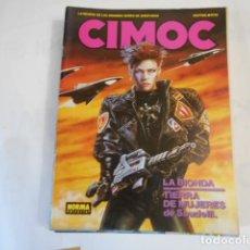 Cómics: CIMOC N82-LA REVISTA DE LAS GRANDES SERIES DE AVENTURAS. Lote 205277760