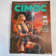 Cómics: CIMOC N67-LA REVISTA DE LAS GRANDES SERIES DE AVENTURAS. Lote 205277931