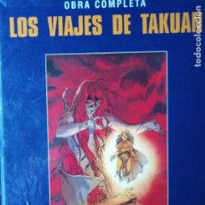 Cómics: LOS VIAJES DE TAKUAN OBRA COMPLETA LE TENDRE-SIMEONI-TADUC 1990 NORMA EDITORIAL TAPA DURA. Lote 205282035