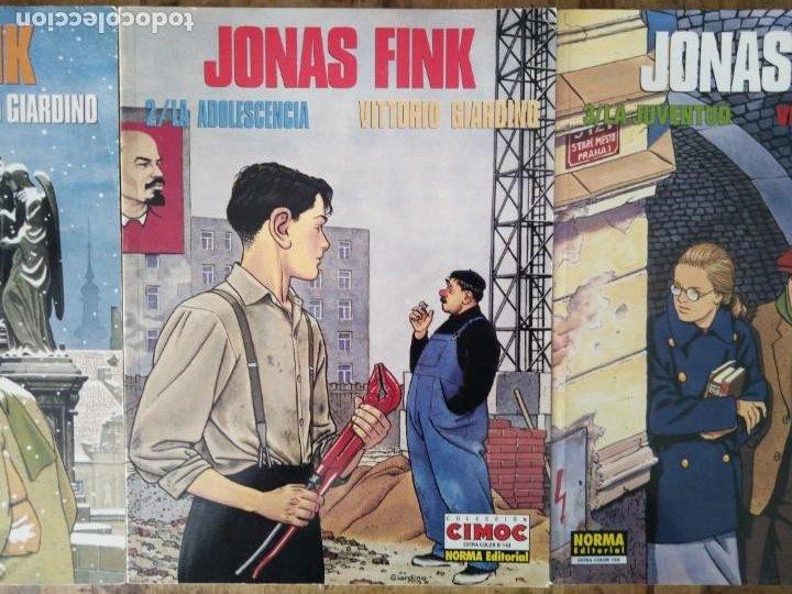 VITTORIO GIARDINO JONAS FINK LA INFANCIA LA ADOLESCENCIA LA JUVENTUD (Tebeos y Comics - Norma - Cimoc)