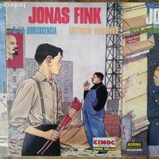 Cómics: VITTORIO GIARDINO JONAS FINK LA INFANCIA LA ADOLESCENCIA LA JUVENTUD. Lote 205304447