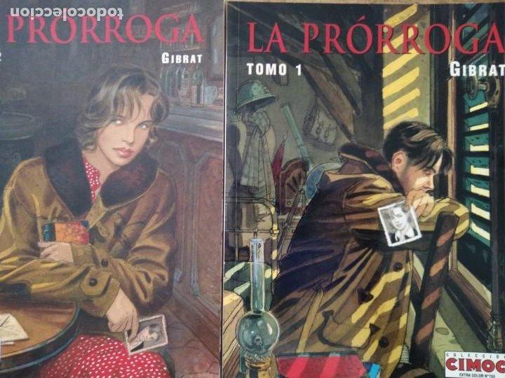 LA PRORROGA GIBRAT TOMO I Y II (Tebeos y Comics - Norma - Otros)