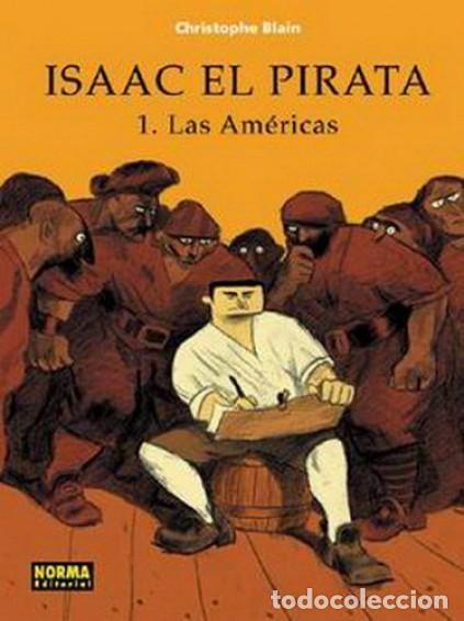 ISAAC EL PIRATA COMPLETA 5 TOMOS (CHRISTOPHE BLAIN) NORMA - CARTONE - MUY BUEN ESTADO - SUB01MR (Tebeos y Comics - Norma - Comic Europeo)