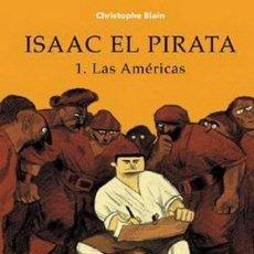 Cómics: ISAAC EL PIRATA COMPLETA 5 TOMOS (CHRISTOPHE BLAIN) NORMA - CARTONE - MUY BUEN ESTADO - SUB01MR. Lote 205436841
