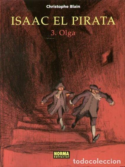 Cómics: ISAAC EL PIRATA COMPLETA 5 TOMOS (CHRISTOPHE BLAIN) NORMA - CARTONE - MUY BUEN ESTADO - SUB01MR - Foto 3 - 205436841