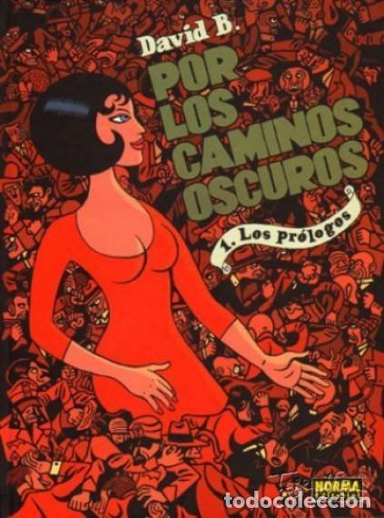 POR LOS CAMINOS OSCUROS COMPLETA 2 TOMOS (DAVID B.) NORMA - CARTONE - MUY BUEN ESTADO - SUB00MR (Tebeos y Comics - Norma - Comic Europeo)