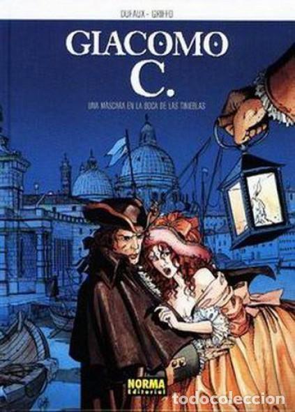 GIACOMO C. COMPLETA 15 TOMOS (DUFAUX / GRIFFO) NORMA - CARTONE - BUEN ESTADO - SUB01MR (Tebeos y Comics - Norma - Comic Europeo)