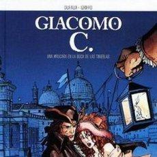 Cómics: GIACOMO C. COMPLETA 15 TOMOS (DUFAUX / GRIFFO) NORMA - CARTONE - BUEN ESTADO - SUB01MR. Lote 205440800