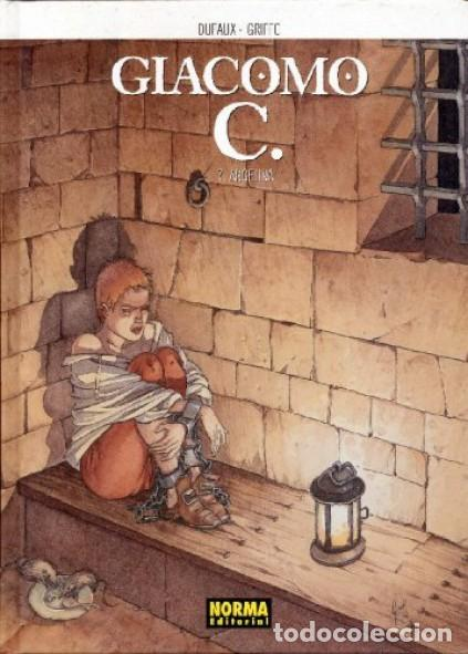 Cómics: GIACOMO C. COMPLETA 15 TOMOS (DUFAUX / GRIFFO) NORMA - CARTONE - BUEN ESTADO - SUB01MR - Foto 7 - 205440800