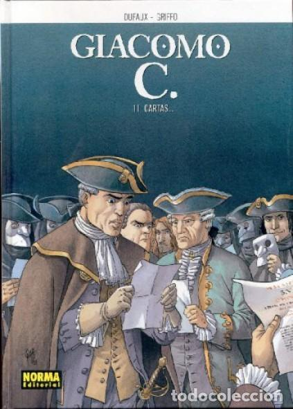 Cómics: GIACOMO C. COMPLETA 15 TOMOS (DUFAUX / GRIFFO) NORMA - CARTONE - BUEN ESTADO - SUB01MR - Foto 11 - 205440800