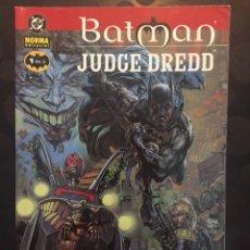 Cómics: BATMAN & JUDGE DREDD : MORIR DE RISA N.1 DE ALAN GRANT Y JOHN WAGNER DC CÓMICS ( 2000 ).. Lote 205441623