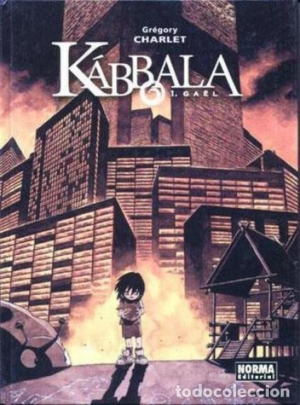 KABBALA COMPLETA 3 TOMOS (GREGORY CHARLET) NORMA - CARTONE - BUEN ESTADO - SUB01MR (Tebeos y Comics - Norma - Comic Europeo)