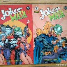 Cómics: JOKER MASK - SERIE COMPLETA - BATMAN / HARLEY QUINN / POISON IVY - W12. Lote 205468746