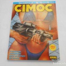 Cómics: CIMOC INVIERNO 3--Nº 70-71-72. Lote 205476593