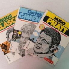 Cómics: CARLOS GIMÉNEZ HUGO PRATT Y JESÚS BLASCO NORMA EDITORIAL. Lote 205539570