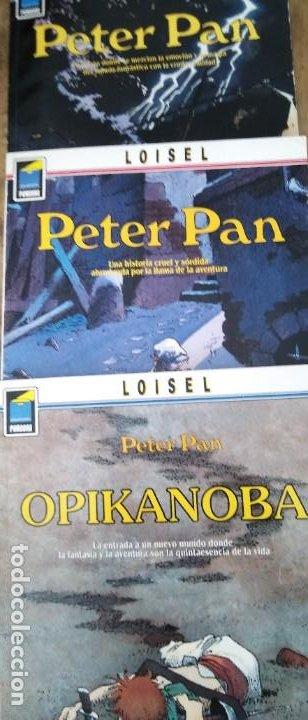 LOISEL PETER PAN NORMA EDITORIAL N 1 LONDRES N 2 OPIKANOBA N 3 TEMPESTAD (Tebeos y Comics - Norma - Otros)