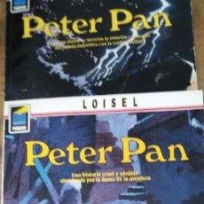 Cómics: LOISEL PETER PAN NORMA EDITORIAL N 1 LONDRES N 2 OPIKANOBA N 3 TEMPESTAD. Lote 205544805
