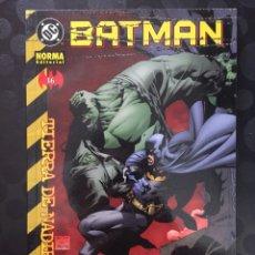 Cómics: BATMAN N.16 TIERRA DE NADIE DC CÓMICS ( 2001/2002 ).. Lote 205558288