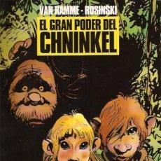 Cómics: EL GRAN PODER DEL CHNINKEL (VAN HAMME / ROSINSKI) COL. B Y N Nº 15 - NORMA - SUB01MR. Lote 205579830