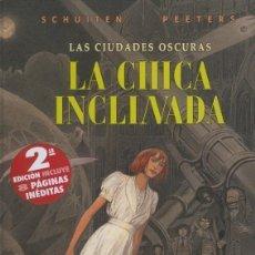Cómics: LA CHICA INCLINADA (SCHUITEN / PEETERS) NORMA - CARTONE - BUEN ESTADO - SUB01MR. Lote 205580975