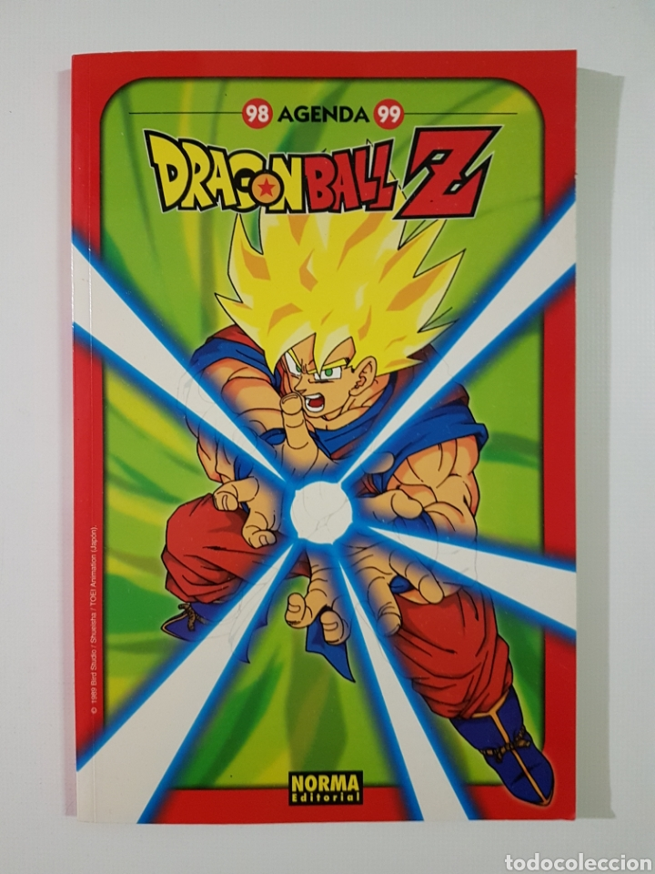 DRAGON BALL Z AGENDA 1998 1999 - 98 99 - NORMA EDITORIAL (Tebeos y Comics - Norma - Otros)
