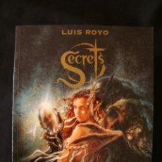 Cómics: LUIS ROYO. SECRETS. NORMA EDITORIAL1999. Lote 205667416