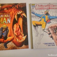 Cómics: LOTE DE 2 COMICAS ANIMAL MAN, DE GREG MORRISON Y CHAZZ TRUOG. Lote 205738817