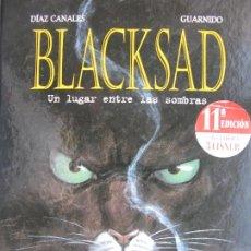 Cómics: DÍAZ CANALES / GUARNIDO - BLACKSAD Nº1 UN LUGAR ENTRE LAS SOMBRAS. NORMA. Lote 205739205